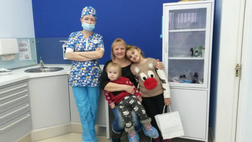 """Безкоштовна стоматологічна допомога для дітей в клініці """"Ангелія"""""""