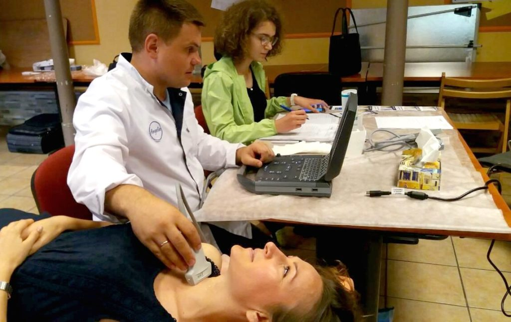 Благодійна медична акція у Варшаві