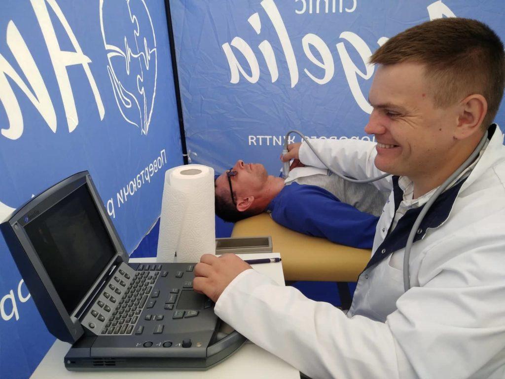 Десятки киян та гостей Києва пройшли безкоштовне обстеження УЗД щитоподібної залози